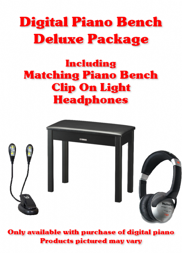 Digital Piano Bench DELUXE PACKAGE